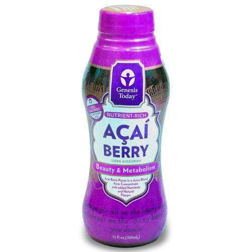 Genesis Today Acai Berry Super Juice Drink, 12 fl oz