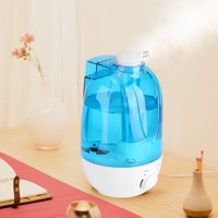 Ejoyous 4L Ultrasonic Humidifier Diffuser LED Light Home Office Room Mist Maker Air Purifier(US Plug), LED Ultrasonic Diffuser,Air Humidifier