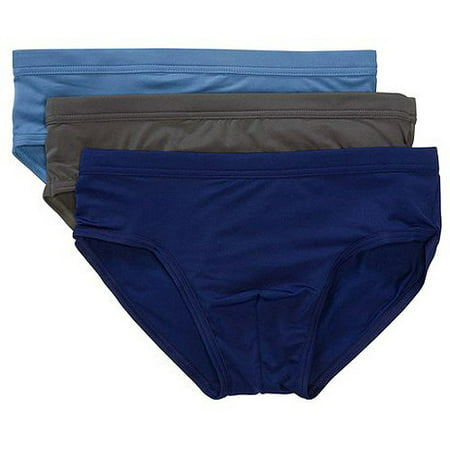 6edc15cac Life by Jockey - Men's Low Rise Briefs, 3-Pack - Walmart.com