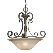 Golden 3890-3P GB Three Light Pendant