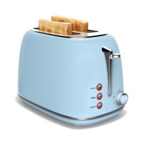 Hamilton 2023027A 2 slice Toaster wide slot (Blue)
