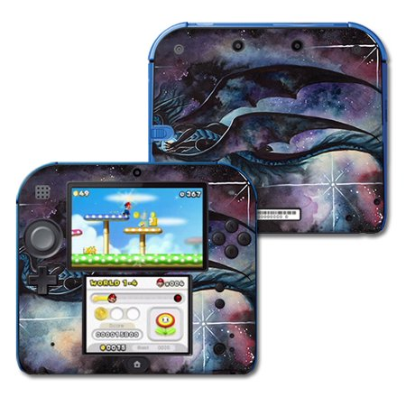 Skin For Nintendo 2DS - Midnight Dragon | MightySkins Protective, Durable, and Unique Vinyl Decal wrap cover | Easy To Apply, Remove, and Change