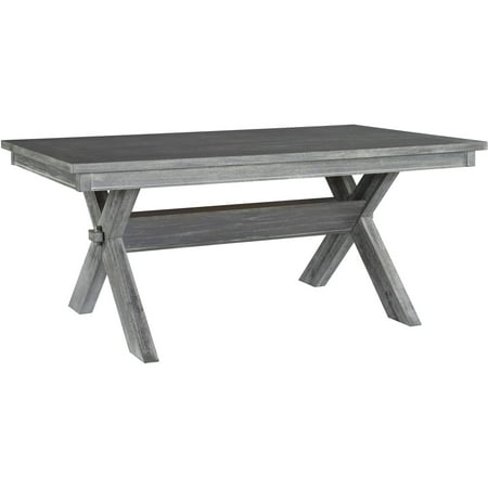 Powell Turino Rectangle Dining Table, Grey ()