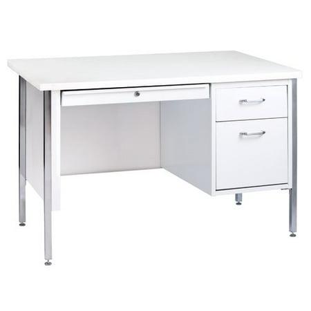 500 Base Unit - Sandusky Lee 500 Series Single Pedestal Desk, 24