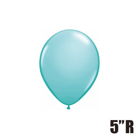 Qualatex 5 Round Balloons Caribbean Blue Pack Of 100 Walmartcom