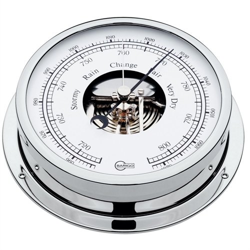 Barigo BAROMETER 5-inch DIAL CHROME HOUSING VIKING SERIES 111CR