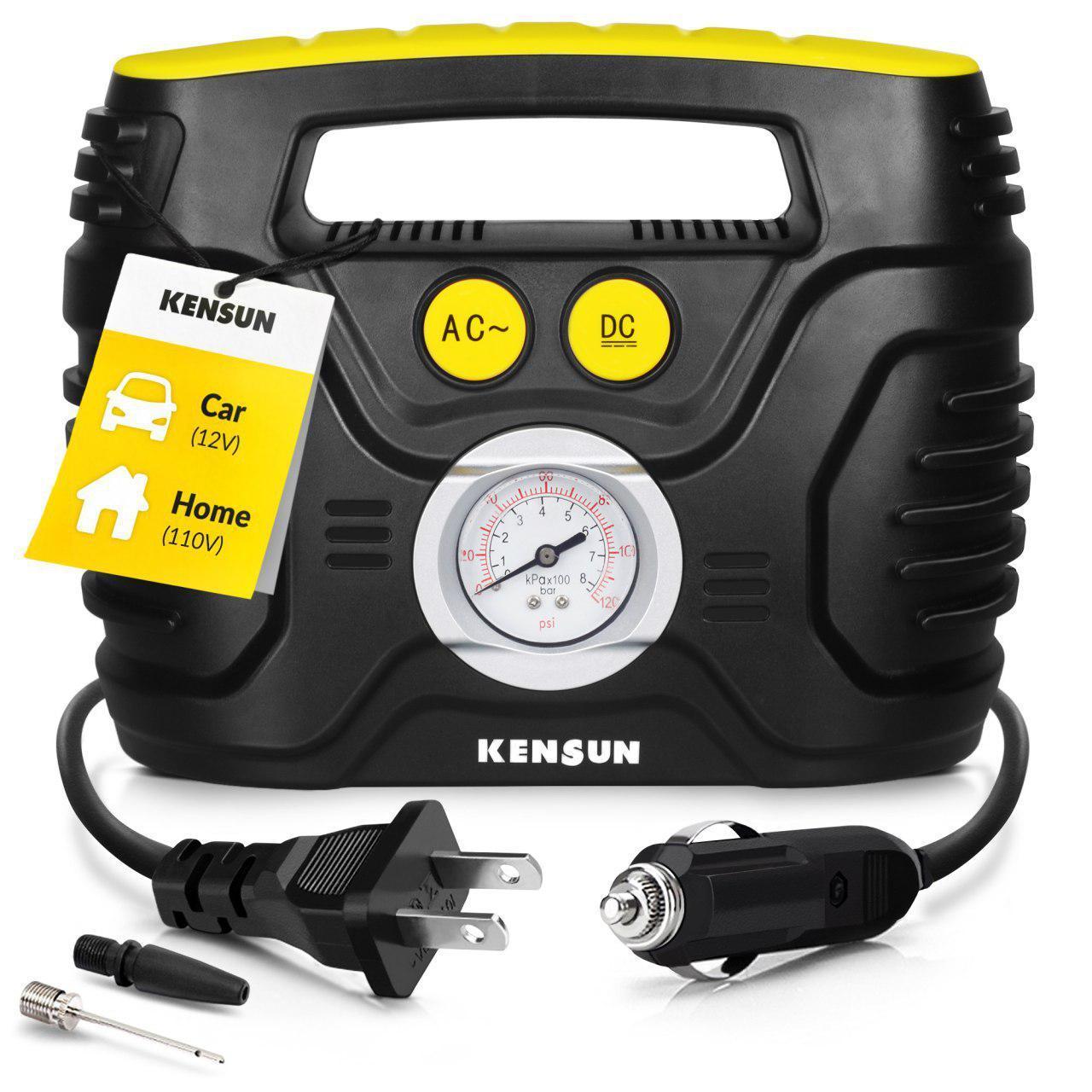 Kensun便携式12V空气压缩机