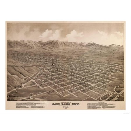 Salt Lake City, Utah - Panoramic Map Print Wall Art By Lantern Press](Salt Lake City Halloween Party)