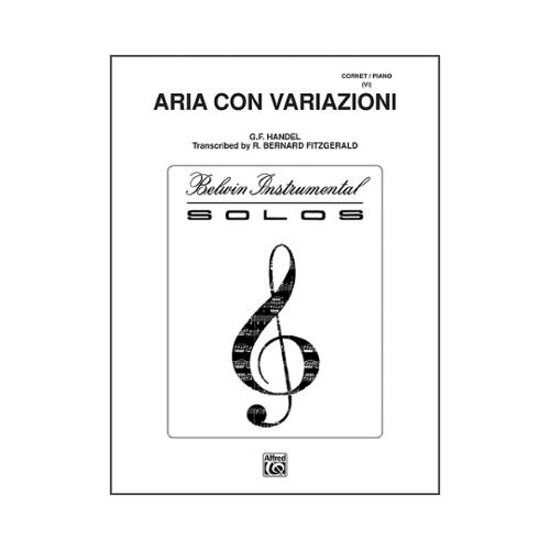 Click here to buy Alfred Aria Con Variazioni Trumpet Solo by Alfred.