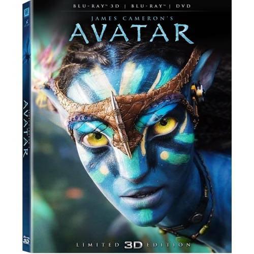 Avatar (3D Blu-ray + Blu-ray + DVD) (Widescreen)