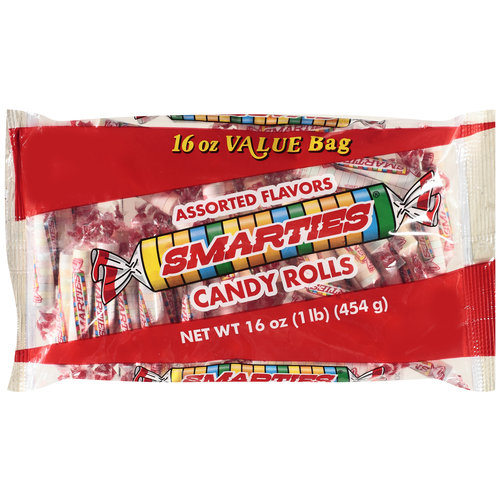 Smarties Candy Rolls, 16 oz