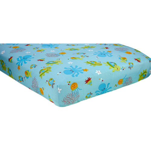 Little Bedding by NoJo Ocean Dreams Crib Sheet