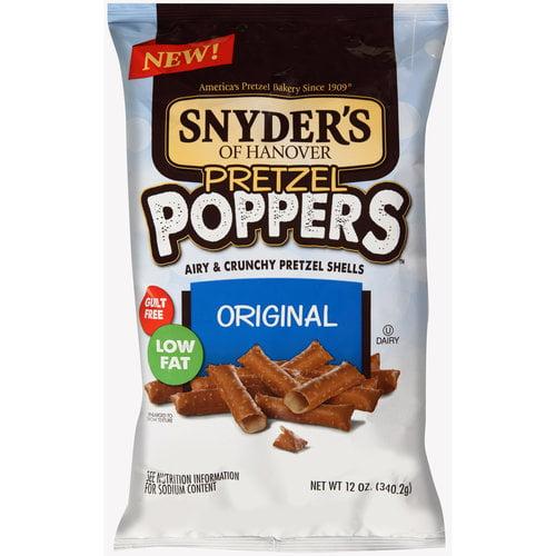 Snyder's of Hanover Pretzel Poppers Original Pretzel Shells, 12 oz