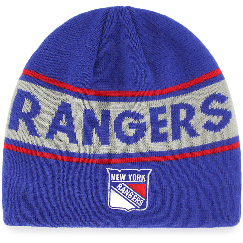 NHL New York Rangers Bonneville Knit Beanie by Fan Favorite