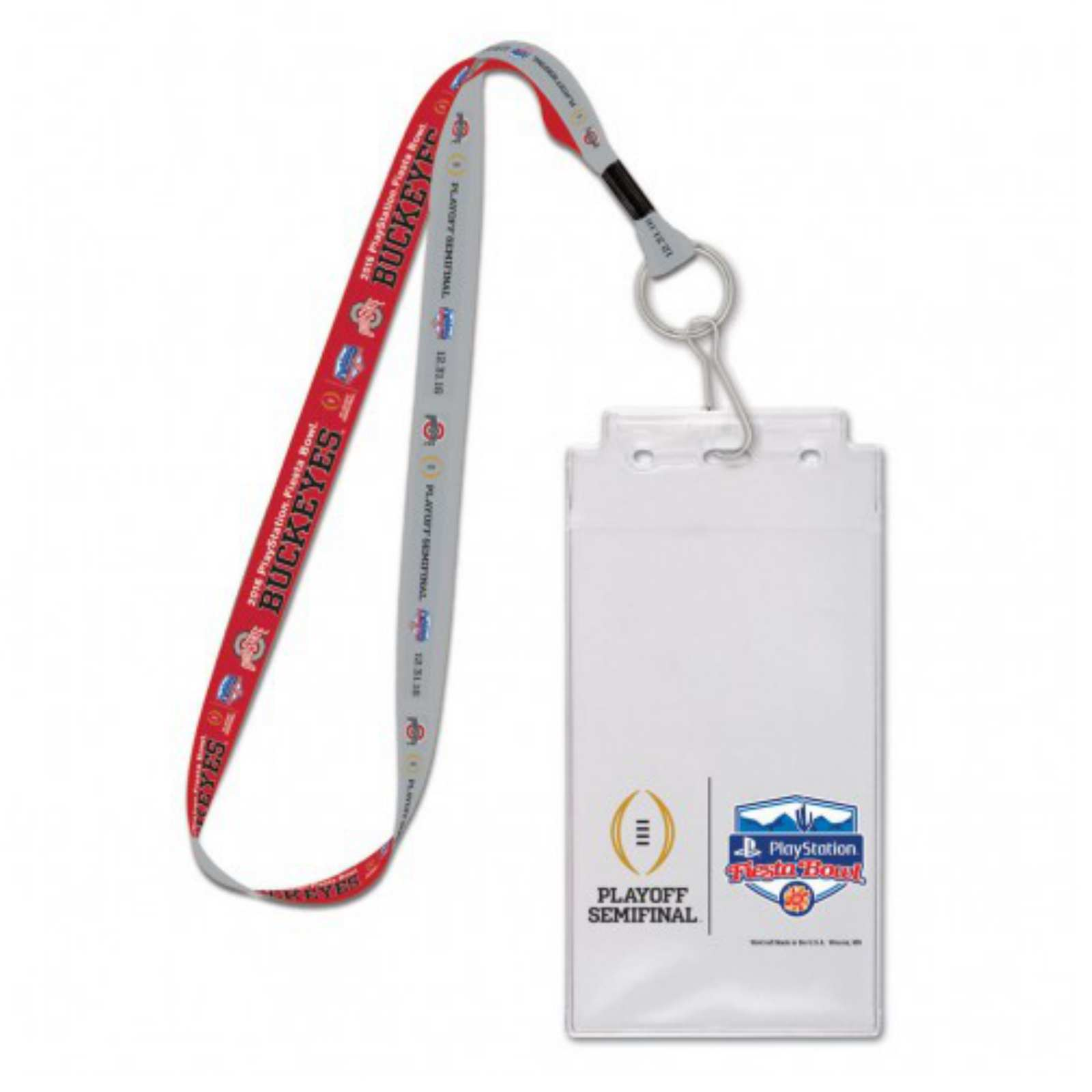 COLORADO ROCKIES LANYARD WITH TICKET HOLDER PLUS COLLECTIBLE PLAYER CARD