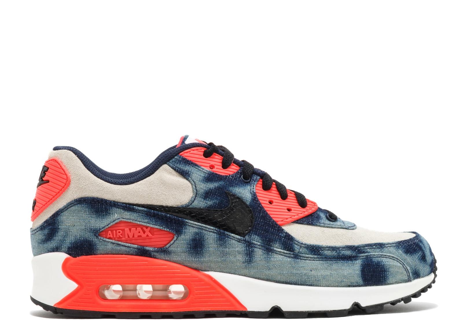 559067c6c9 Nike - Men - Air Max 90 Dnm Qs 'Infrared Washed Denim' - 700875-400 - Size  10.5