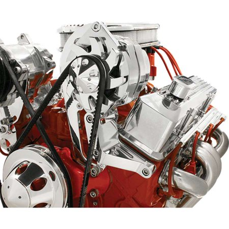 BILLET SPECIALTIES 10220 Alternator Brackets and Components Alt. Bracket SBC Driver Side Hi Mount