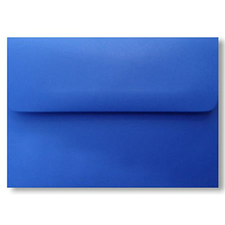 500 Blueberry Blue A7 (5-1/4 X 7-1/4) Envelopes for 5 X 7 Greeting Cards Invitation Photos Birth Announcement Shower Communion Christening Thank You Wedding By - Wedding Shower Thank You Cards