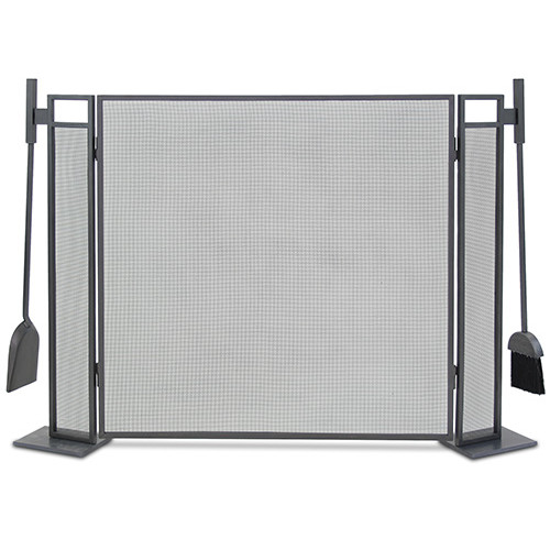 Pilgrim Hearth Blackshear 3 Panel Fireplace Screen