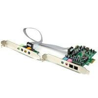 Startech Add Hi-fi Digital Optical 7.1 Surround Sound To Your Computer Through Pcie - 7.1