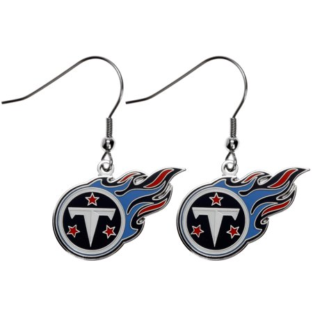 Tennessee Titans Logo Wire Earrings - No - Tennessee Titans Dangle Earrings