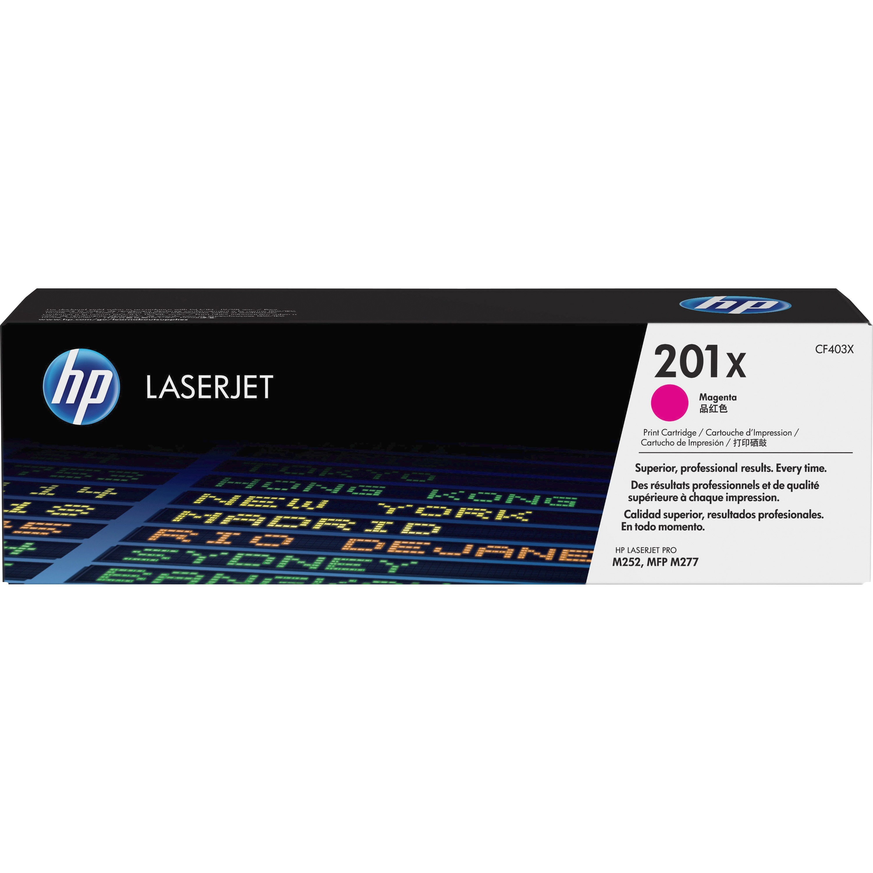 HP 201X (CF403X) Magenta High Yield Original LJ Toner Cartridge