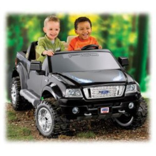 Fisher-Price Power Wheels Ford F150 Truck Battery Powered Riding Toy - Black