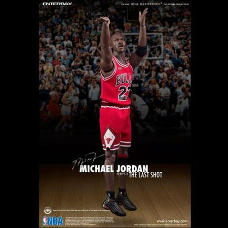 best service e5236 d2fae Enterbay Michael Jordan Series 2 The Last Shot RM-1058 1/6 Scale 13 Inch  Figure