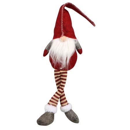 Santa Claus Doll, EEEKit Christmas Santa Claus Long Leg Gnome Plush Doll Toy Indoor Home Desktop Table Collectible Ornaments Decoration ()