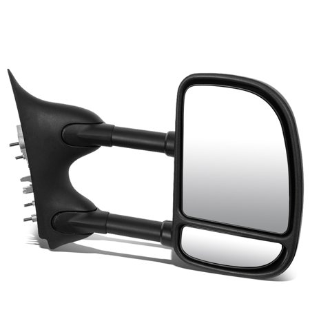 Ford Super Duty Cross (For 1999 to 2007 Ford Super Duty Manual Adjustment / Telescoping Towing Mirror (Right / Passenger) )