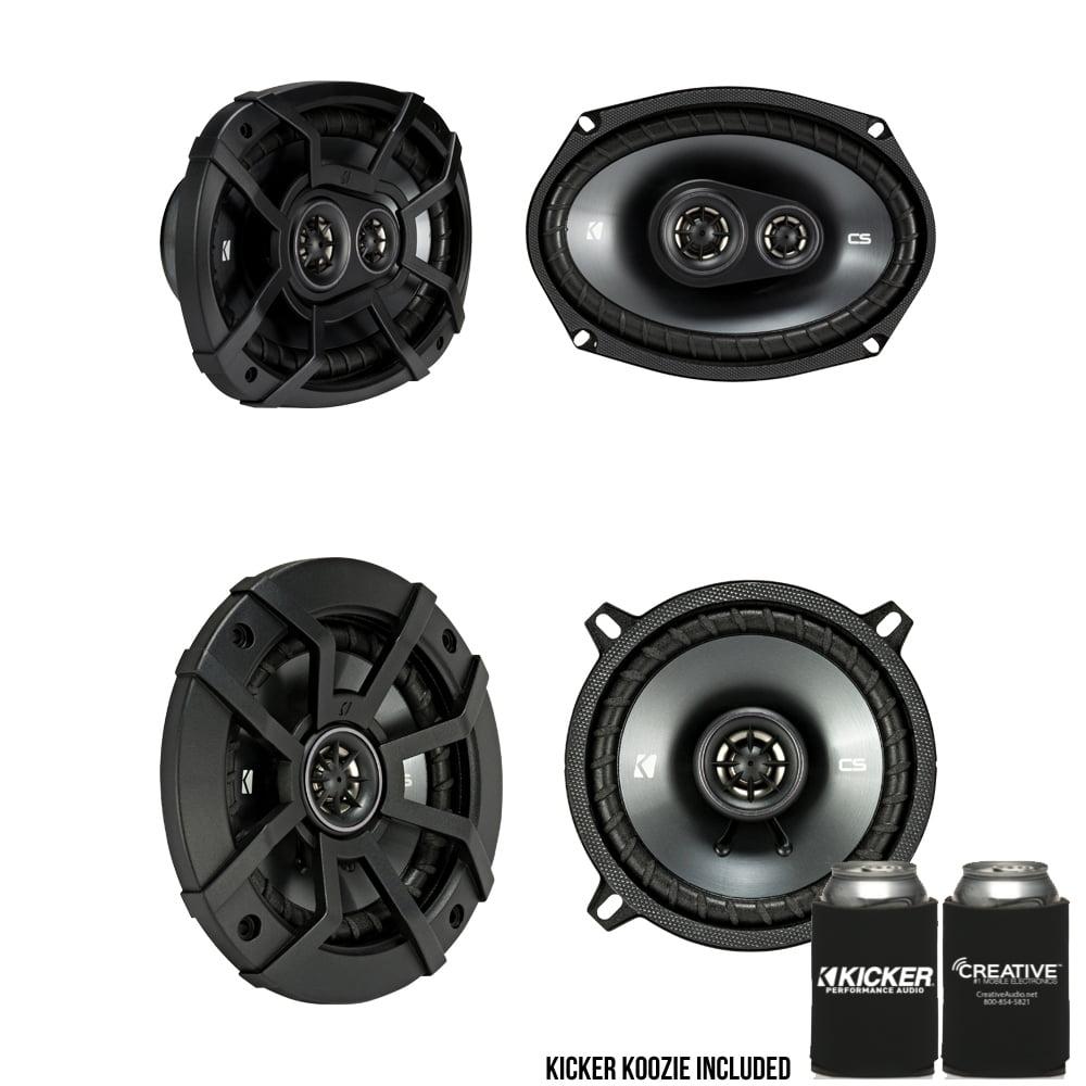 Kicker for Dodge Ram 1994-2011 Truck Speaker Bundle 43CSC6934 6x9, 43CSC54 5.25 Inch Speakers