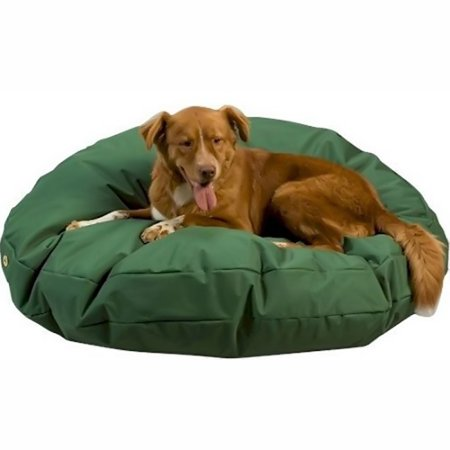 Waterproof Lounger Pet Bed - Round / Small / Black