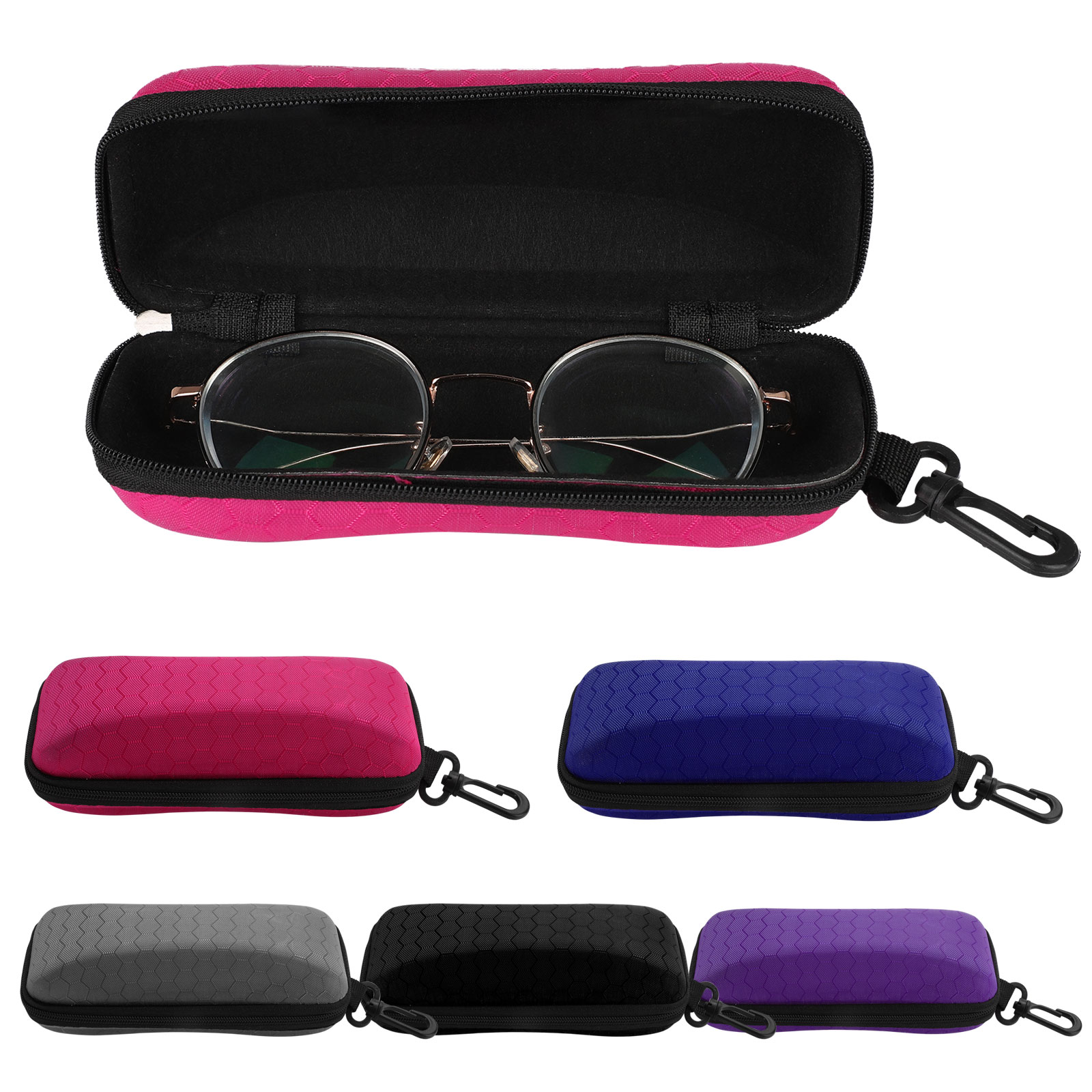 All the Rave hard shell Eyeglass case Grey