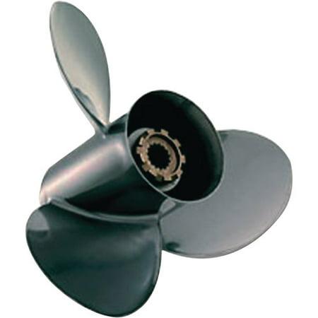 Quicksilver Black Diamond Aluminum 3-Blade Propeller
