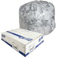 Genuine Joe Clear Trash Can Liners, Clear, 250 / Box (Quantity)