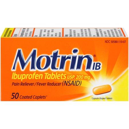 Motrin IB, 50 Count