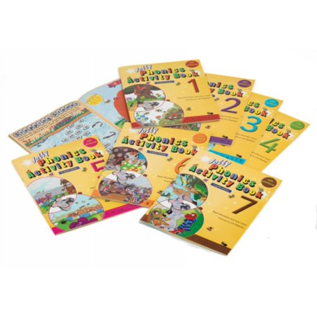 Jolly Phonics Activity Books 1 7  In Print Letters   Paperback