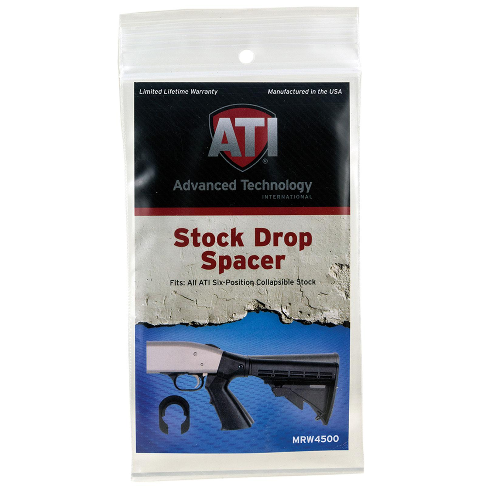 Image of Advanced Technology MRW4500 Stock Drop Spacer Glass Filled Nylon, Black
