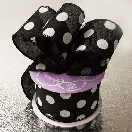 Black Linen Wrap (2 1/2