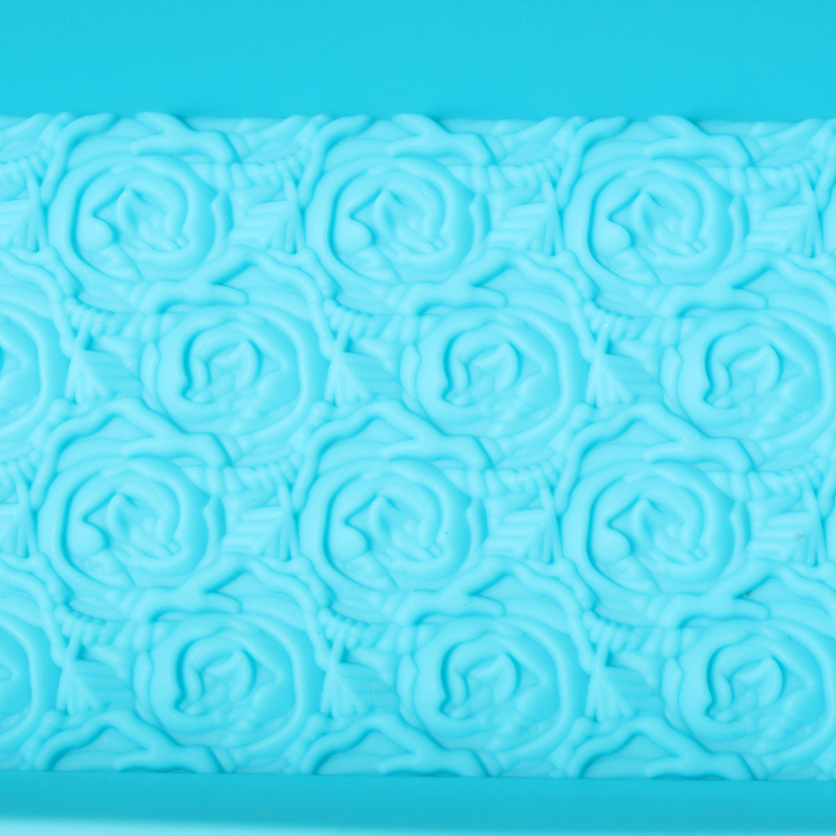 Rose Flower Silicone Soap Mold Rectangle Soap Mold Loaf Cake Chocolate DIY