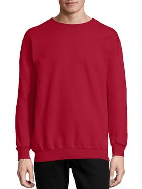 Hanes Men's and Big Men's Ultimate Cotton Heavyweight Fleece Sweatshirt, up to Size 3XL