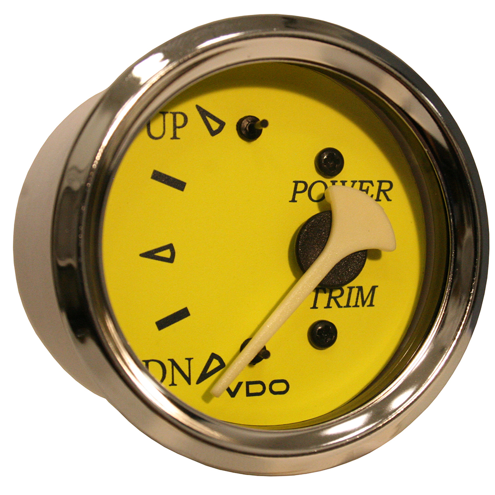 VDO ALLENTARE YELLOW/BLUE TRIM GAUGE FOR USE WITH MERCURY/