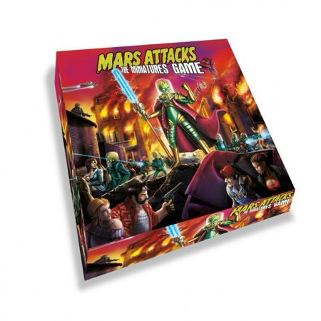 Mars Attacks - The Miniatures Game New (Trading Miniatures Game)