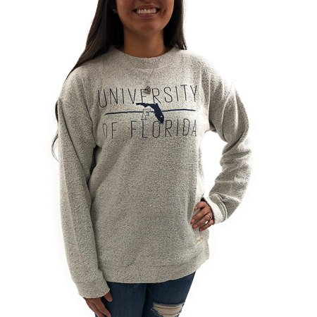 University of Florida Gators Womens Apparel Comfy Terry Sweatshirt - Ladies Gator
