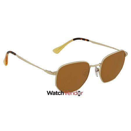 2a56cf68130e9 Persol Brown Square Sunglasses PO2446S 107633 52 - image 1 of 3 ...