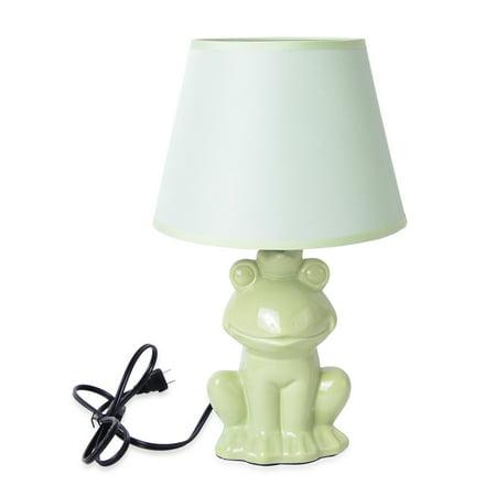 4 In Chrome Table Lamp - Home Decor Coffee Ceramic Horse Design Table Lamp
