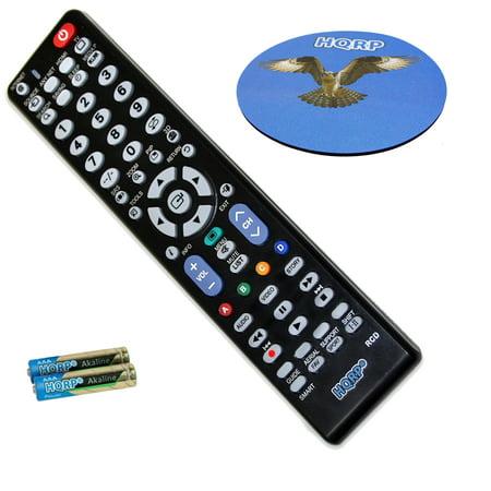 HQRP Remote Control for Samsung BN59-00856A BN5900856A LCD LED HD Smart TV + HQRP Coaster