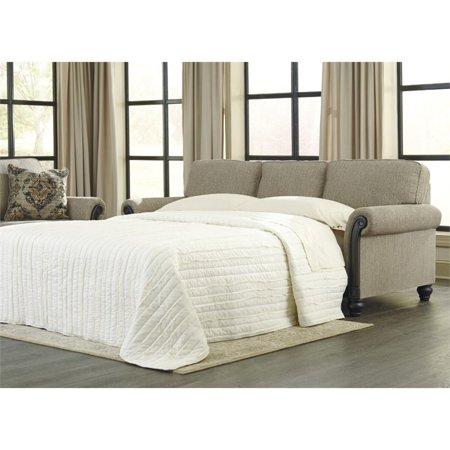 Ashley Blackwood Queen Sleeper Sofa In Taupe Walmart Com