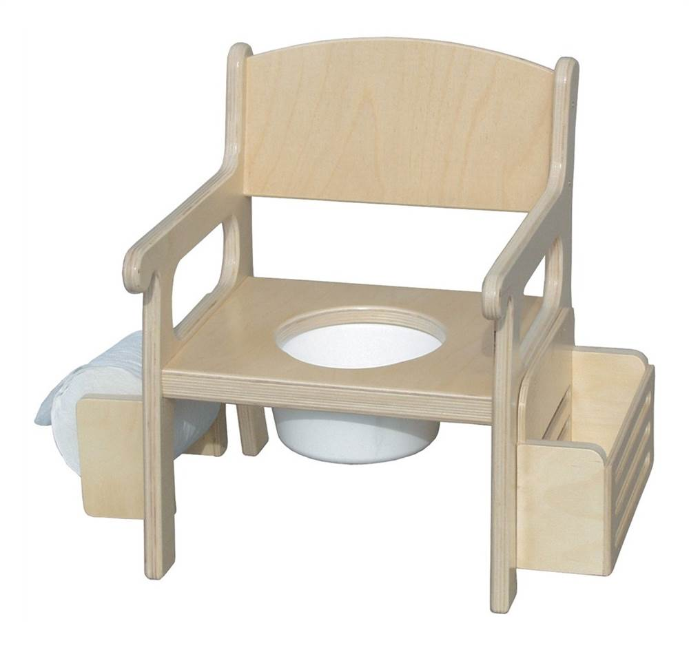 Traditional Potty Chair (Unfinished)