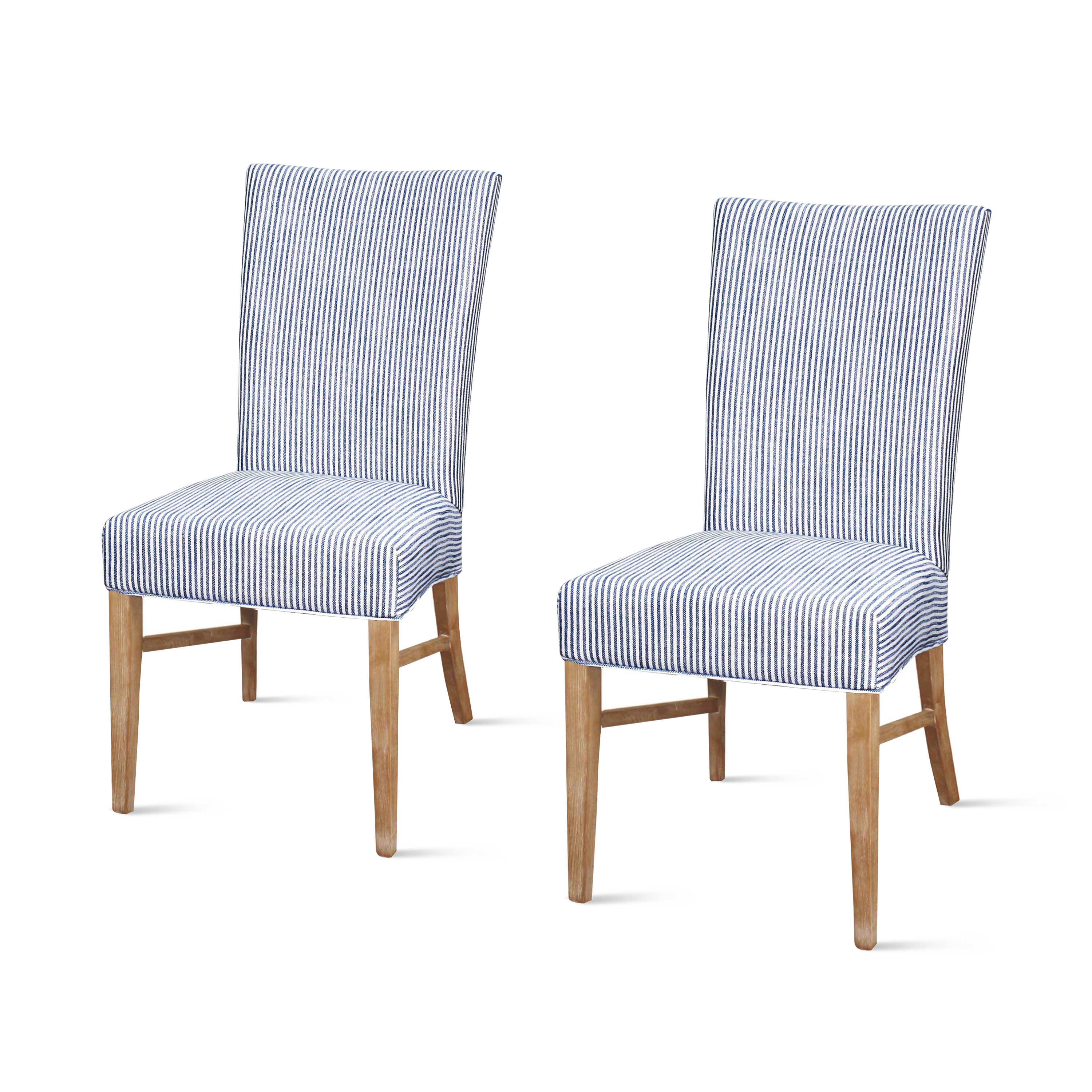 Milton Fabric Dining Chair (Set of 2), Multiple Colors